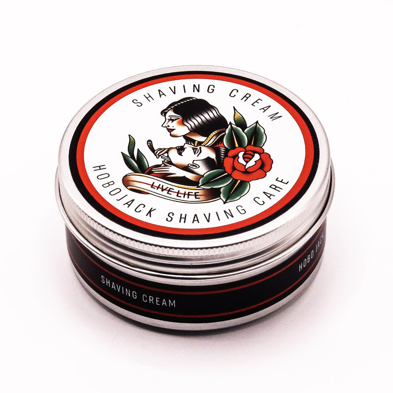 Shaving Cream - 125ml (Large Pot) By Hobo Jack