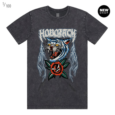 THUNDER CAT 2.0 STONE WASH VINTAGE T-SHIRT