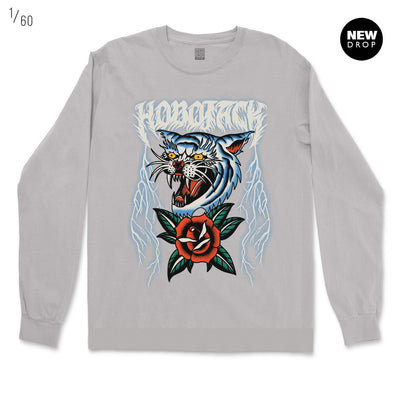 THUNDER CAT 2.0 GREY ORGANIC SWEATSHIRT