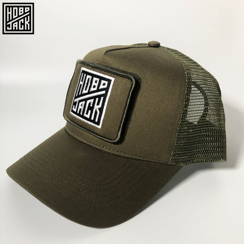 CLASSIC TRUCKER CAP - INTERCHANGEABLE PATCH - MILITARY