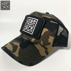 CLASSIC TRUCKER CAP - INTERCHANGEABLE PATCH - CAMO