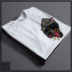 TRAD CAT - WHITE POCKET T-SHIRT