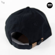 SIX PANEL DAD CAP BLACK
