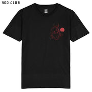 THE DEVILS OWN - POCKET - BLACK T-SHIRT