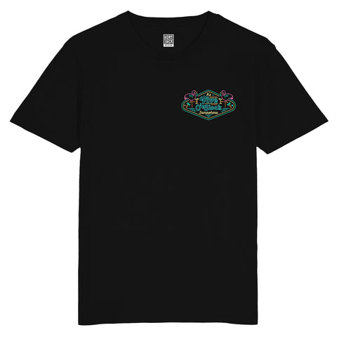FIVE O'CLOCK SOMEWHERE - BLACK TEE - POCKET TEE