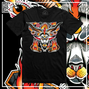 X MORS TATTOO Collab - The Sacrifice - Black T-Shirt - 100 LTD EDITION