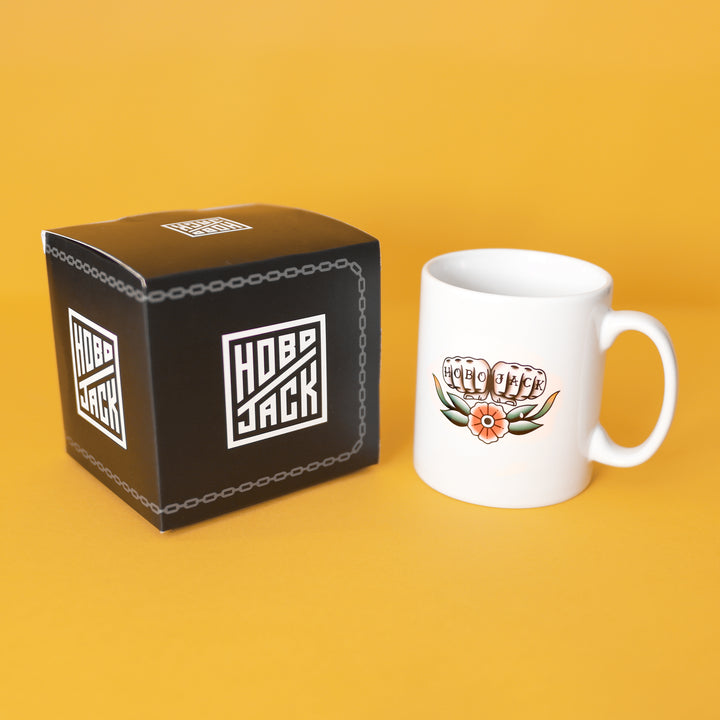 KNUCKLE DOWN MUG - HOBOJACK