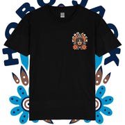 BASKING - BLACK T SHIRT - POCKET PRINT X WITCHKING STUDIOS COLLAB