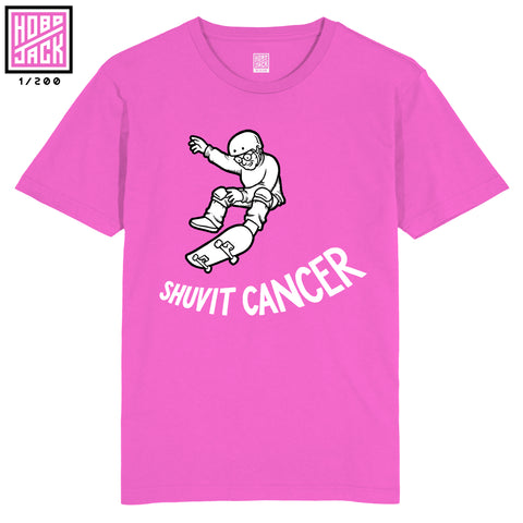 SHUVIT CANCER - ( In memory of Elaine) Pink T-Shirt - 200 (2nd Run)