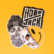 HOBO JACK STICKER PACK 1 (SQUIDOODLEART)