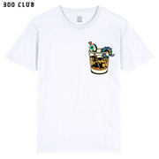 THE DEEP - WHITE POCKET T-SHIRT ~ ASH PRICE COLLAB