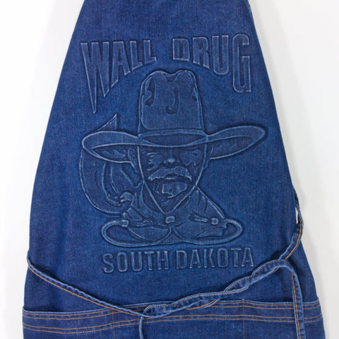 Wall Drug Cowboy Blue Denim Apron - Wall Drug Store