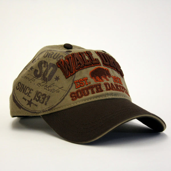 Wall Drug Buffalo 1931 Baseball Hat - Wall Drug Store