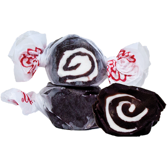 Black Licorice Salt Water Taffy (1 lb.) - Wall Drug Store