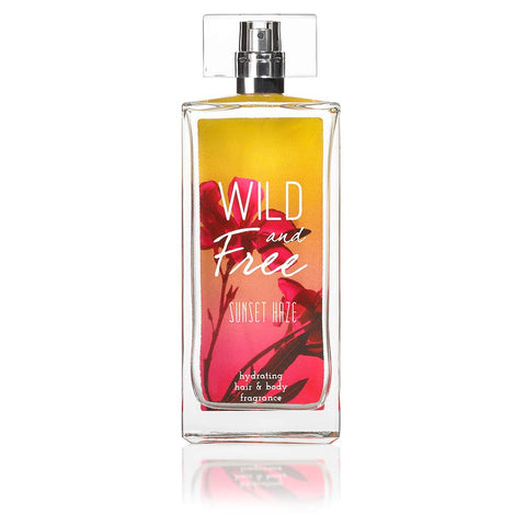 Wild and Free Hydrating Hair & Body Fragrance, 3.4 oz - Sunset Haze - Wall Drug Store