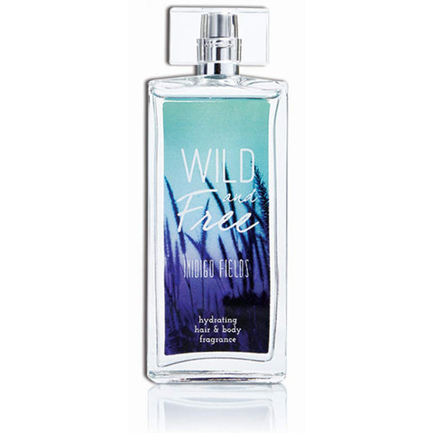 Wild and Free Hydrating Hair & Body Fragrance, 3.4 oz - Indigo Fields - Wall Drug Store