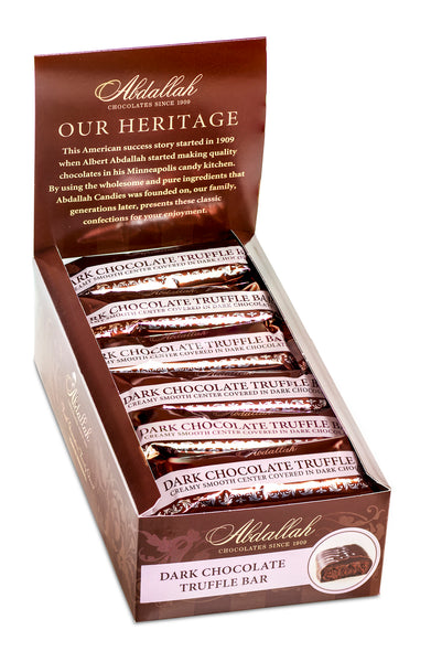 Dark Chocolate Truffle Bar Abdallah Candies - Wall Drug Store