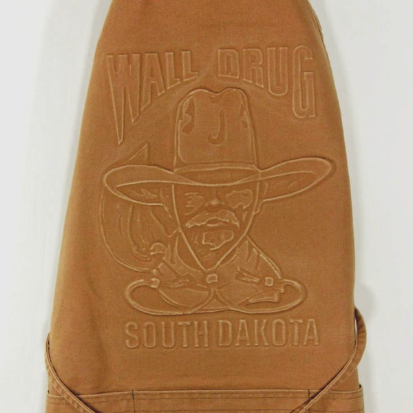 Wall Drug Cowboy Camel Canvas Apron - Wall Drug Store