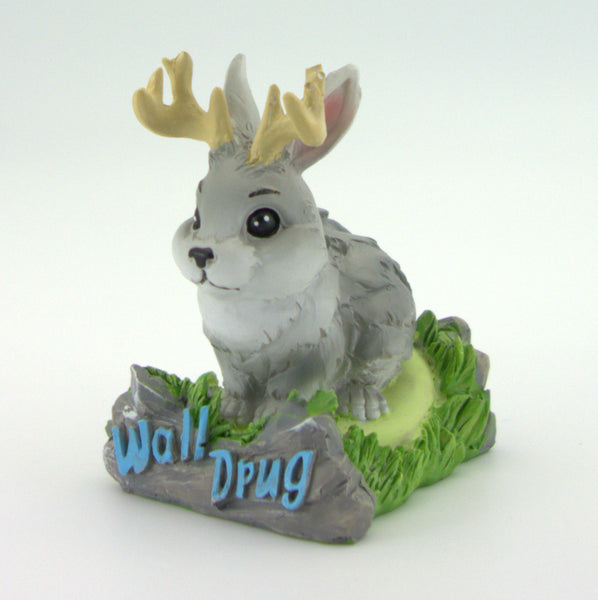 Poly Resin Jackalope Statue