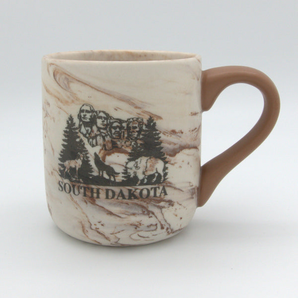 South Dakota Marble Mug