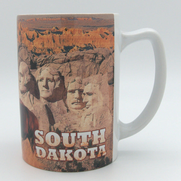 South Dakota Collage Mug