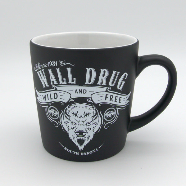 Black Buffalo Wild Mug - Wall Drug Store