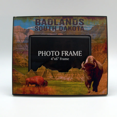 Badlands 3D Picture Frame