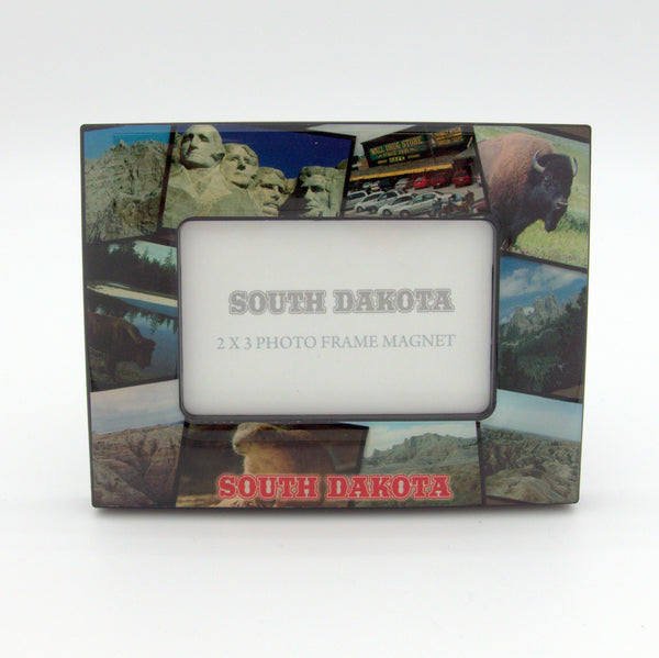 South Dakota Picture Frame Magnet