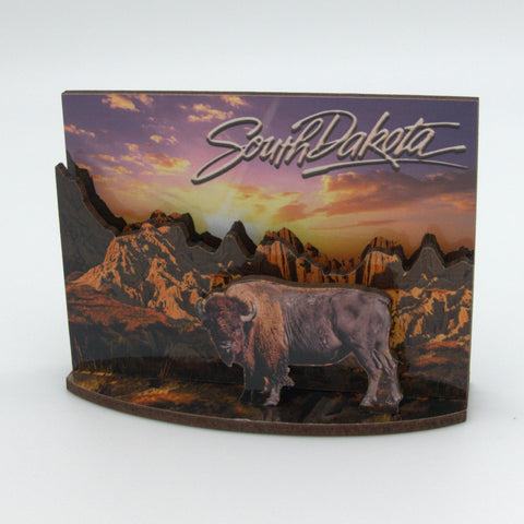 Badlands 3D Magnet - Wall Drug Store