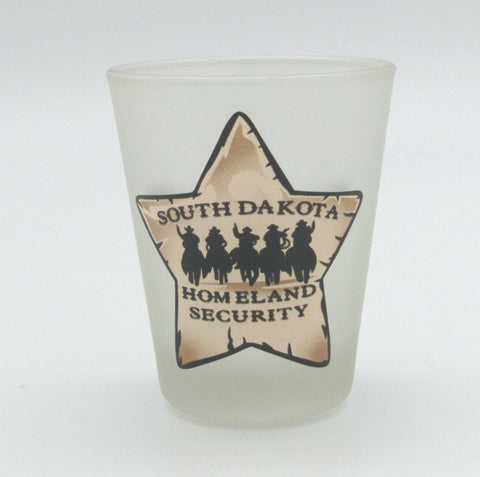 Homeland Security Shot Glass