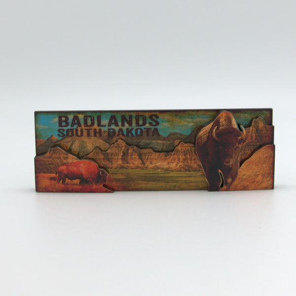 Badlands 3D Panoramic Magnet - Wall Drug Store