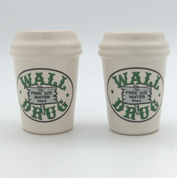Wall Drug Oval Salt and Pepper Shakers