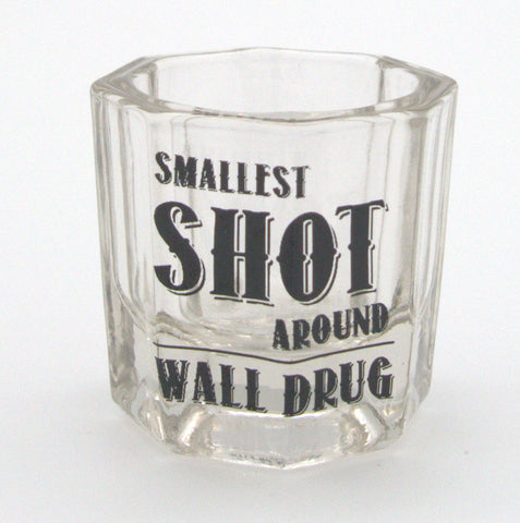 Smallest Shot Around! Wall Drug Shot Glass - Wall Drug Store