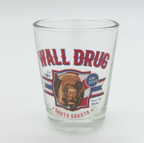 Wall Drug American Buffalo Shot Glass