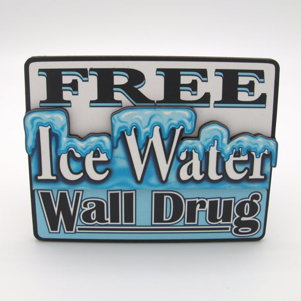 Free Ice Water Magnet