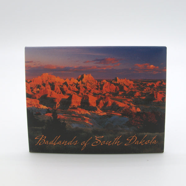 Sunset Badlands Magnet