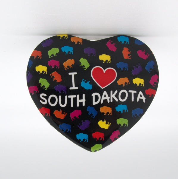 I Love South Dakota Magnet