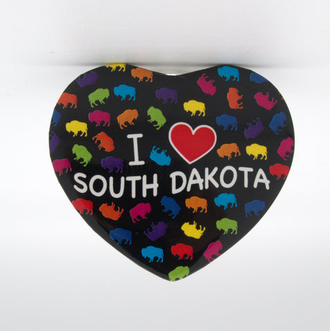 I Love South Dakota Magnet - Wall Drug Store