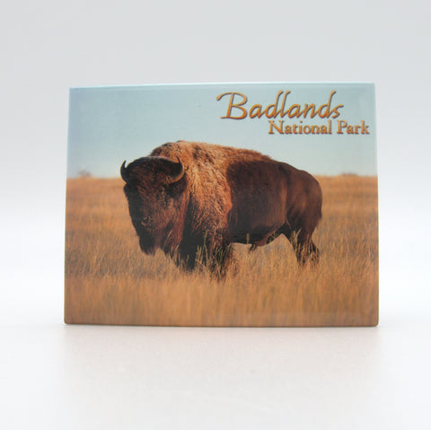 Badlands Buffalo Badge Magnet
