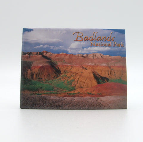 Badlands National Park Badge Magnet