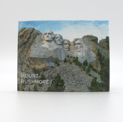 Mount Rushmore Blue Magnet - Wall Drug Store