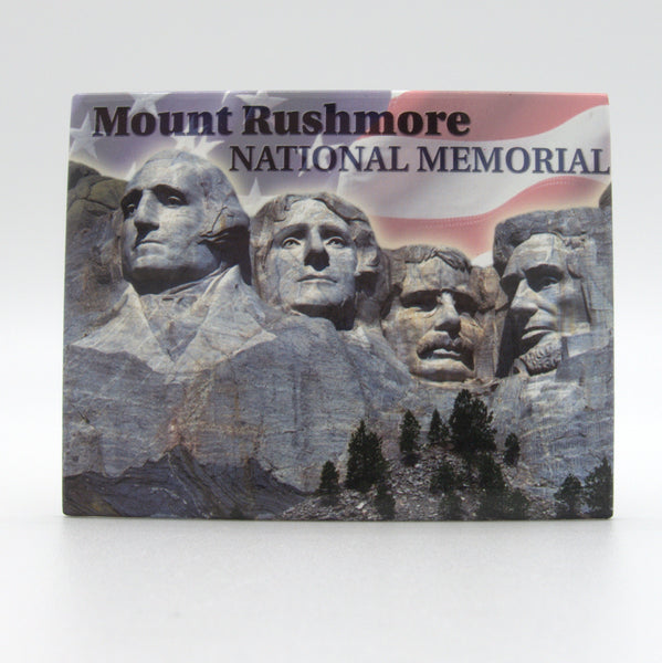 Mount Rushmore Flag Magnet