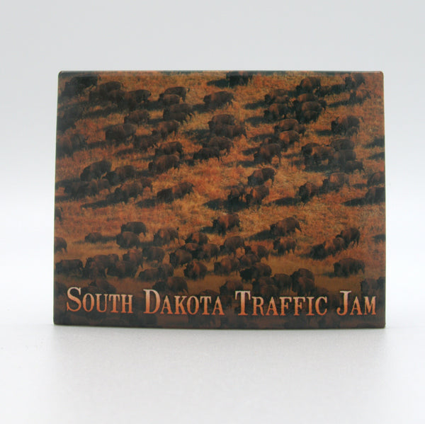 South Dakota Traffic Jam Magnet