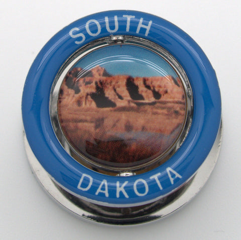 Badlands South Dakota Spinner Magnet - Wall Drug Store