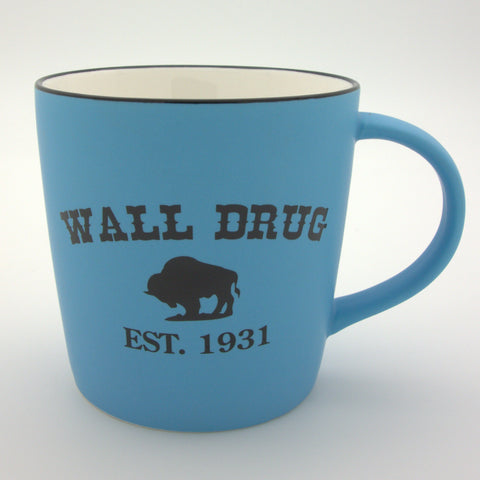 Wall Drug Est. 1931 Bright Blue Mug - Wall Drug Store
