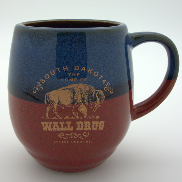 Bison Wall Drug Glazed Mug - Wall Drug Store