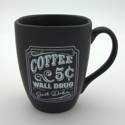 Chalkboard Five Cent Coffee Wall Drug Mug - Wall Drug Store