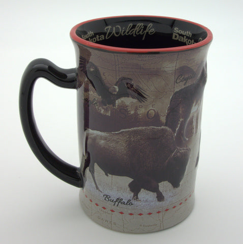 South Dakota Wildlife Mug - Wall Drug Store