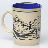 Mount Rushmore & Badlands Buffalo Mug