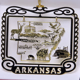All 50 State Collectible Brass Ornaments - Wall Drug Store